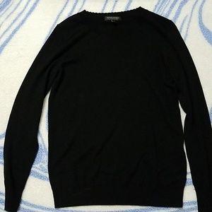 Banana Republic black sweater merino wool, medium